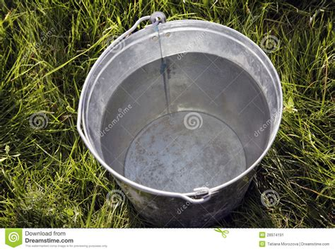 Iron Bucket Stock Image