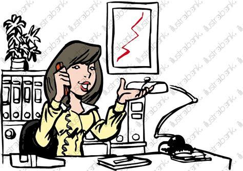 la vie en bureau chef une chef d 39 entreprise dans bureau illustration libre