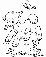 HD Wallpapers Mary Had A Little Lamb Printable Coloring Pages