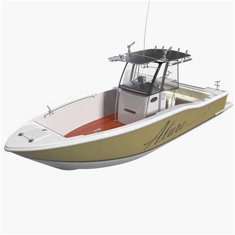 Fishing Boat Model by Fishing Boat 4 3d Model