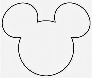 Mickey Mouse Template Beepmunk