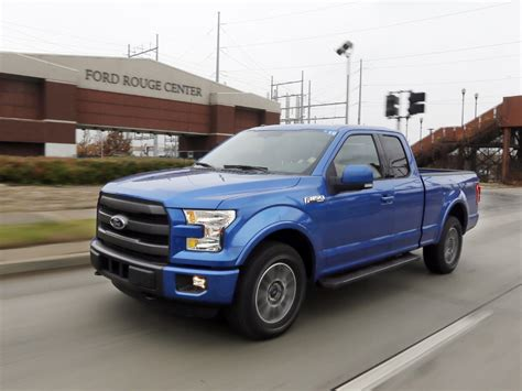 New F-150's Gas Mileage Top Among Pickups