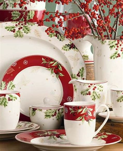 beautiful christmas dinnerware sets christmas