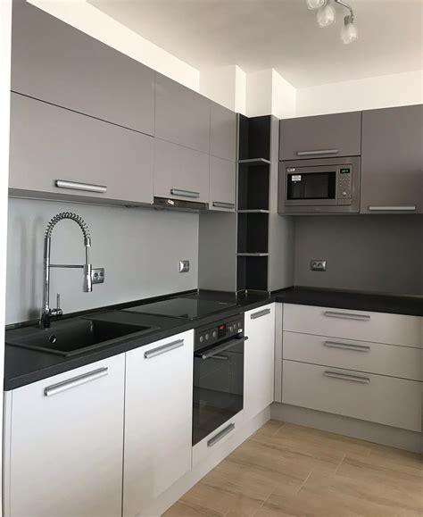 lighting ideas for kitchens modern grey mdf kitchen modern kitchens 7047