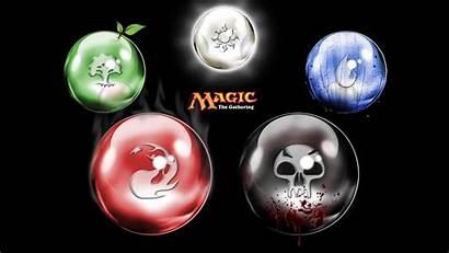 Gathering Magic Mana Ball Desktop Orbs Five