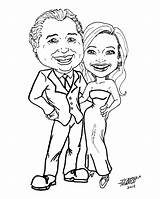 Caricature Couples Latest Genius Stephen Comic sketch template