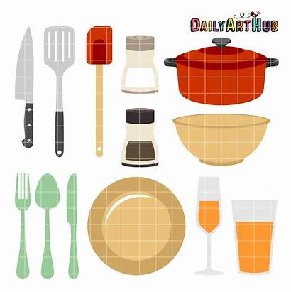 Kitchen Clip Clipart Objects Restaurant Everyday Clipartmag