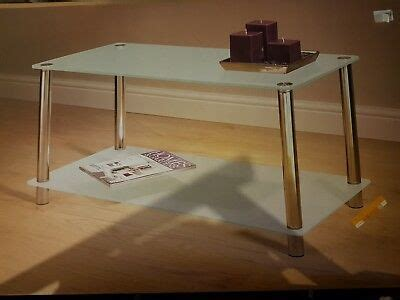 Combine with other furniture in the liatorp series for a complete, beautiful look. Brand New Boxed White Glass Top Coffee Table Modern Design IKEA Argos   eBay