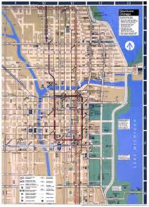 L Train Chicago Map Downtown