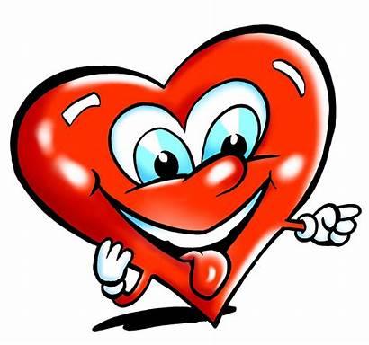 Heart Clipart Valentine Background Transparent Happy Cartoons