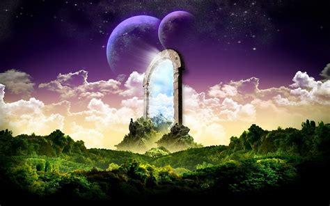 landscape fantasy art scenery desktop wallpaper nr