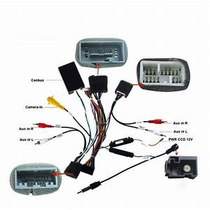 Joying Wiring Cable For Honda Civic Canbus Adapter Harness