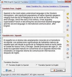 free english spanish translator 230 at softwarebusters With english to spanish document translation software