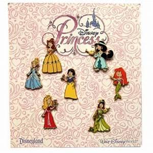 Disney 7 Pin Booster Set Disney Princess Toddlers