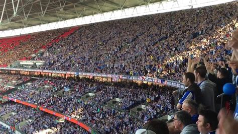 Superb backing from Sheffield Wednesday fans at Wembley ...