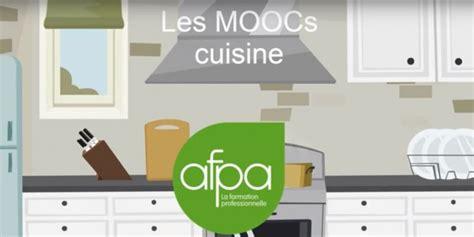 formation de cuisine gratuite l afpa lance une formation en ligne gratuite d apprentissage 224 la cuisine