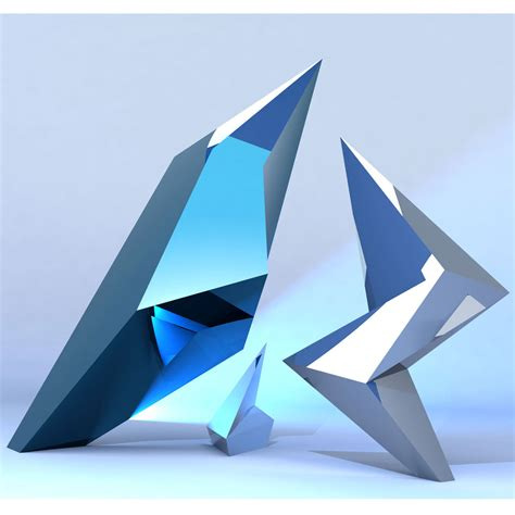 Skulpturen Modern by Jagged Contemporary Modern Interior Design Sculpture