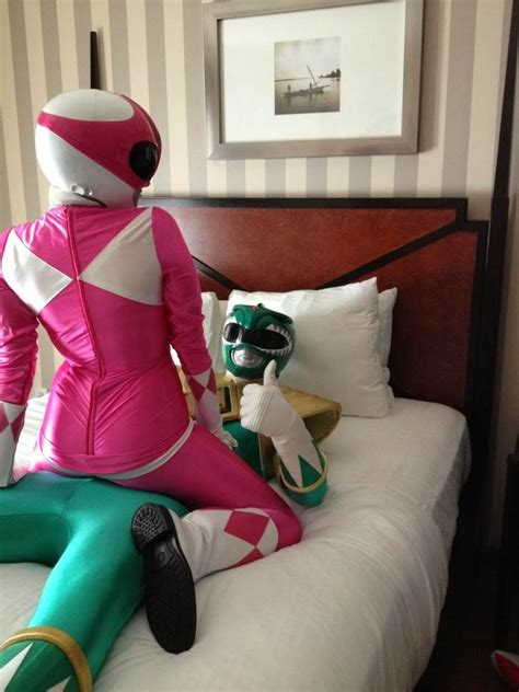 Funny Power Rangers Cosplayer - Oh My World!