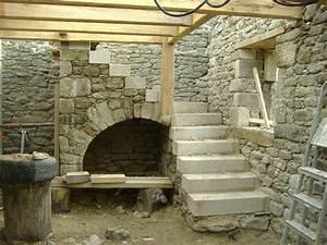 Construction En Pierre : construction d 39 un escalier en pierre quimper finist re ~ Premium-room.com Idées de Décoration