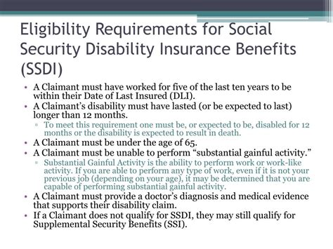 The cost to the worker for private plan family leave insurance coverage cannot be more than the cost to workers for state plan coverage. PPT - Social Security Disability Basics PowerPoint Presentation, free download - ID:3418565