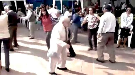 Funny Old Guy Dancing Remix YouTube