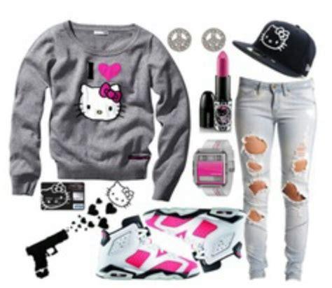 434df114c4fc09 Outfits Polyvore Swag Jordans