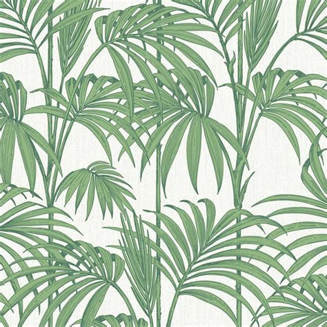graham brown palm tree pattern leaf glitter motif