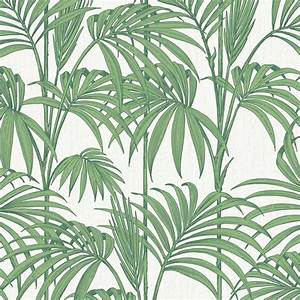 Leaf design wallpaper : Graham brown palm tree pattern leaf glitter motif