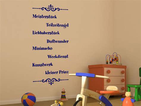 Wandtattoo Kinderzimmer Kleiner Prinz by Wandtattoo Kleiner Prinz Mit Ornamenten Wandtattoos De