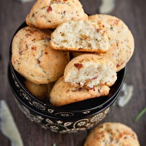 recette cookies au fromage  au bacon facile rapide