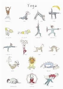 Yoga poster for kids - Joyful Babies