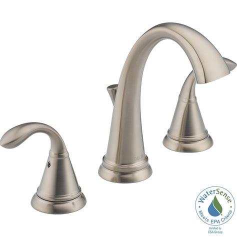 delta lorain faucet widespread delta faucet 3592lf rb two handle widespread