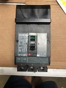 Square D Hja36110  110 Amp 3 Pole 600 Volt 65k Circuit