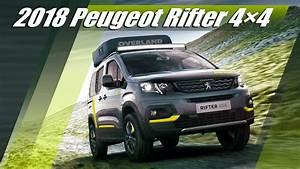 Peugeot Rifter 4x4 : 2018 peugeot rifter 4x4 exterior interior drive youtube ~ Medecine-chirurgie-esthetiques.com Avis de Voitures