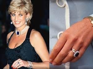 princess diana engagement ring kate middleton receives princess diana 39 s engagement ring jewelry insider