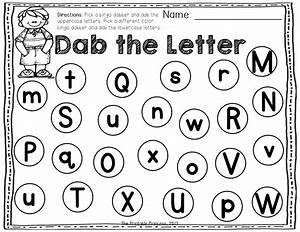 a dab of learning bingo dabber alphabet number With bingo letters and numbers