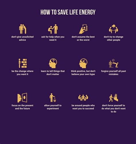How To Save Life Energy