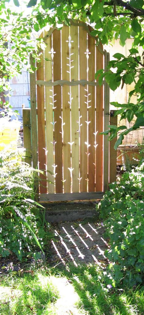 best 25 wooden gates ideas on wooden side