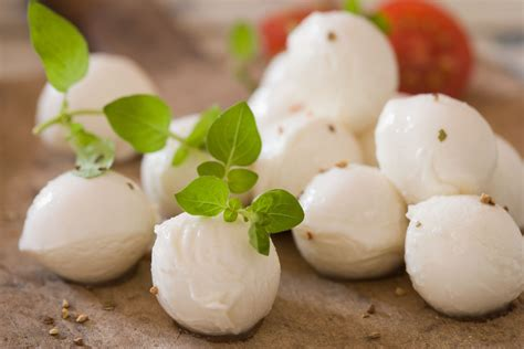fresh mozzarella varieties types  fillings