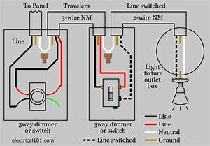 Wiring Diagram For Dimmer Switch
