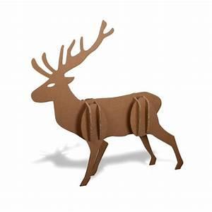 Renne En Carton : grand renne en carton ~ Melissatoandfro.com Idées de Décoration
