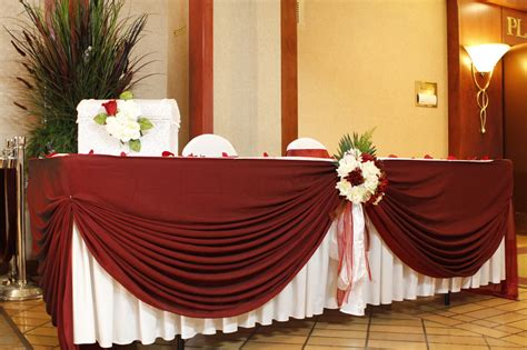 table cloth decoration wedding table decoration linens noretas decor inc