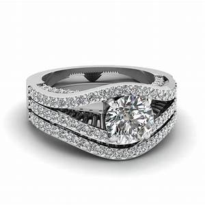 contemporary split set fascinating diamonds With contemporary wedding ring sets