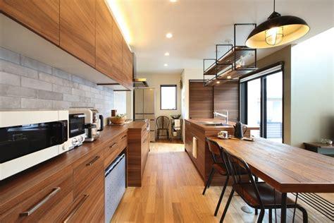 kitchen courtyard designs 納入事例一覧 ミコロールモデルハウス キッチン 家具のgraftekt グラフテクト 1029