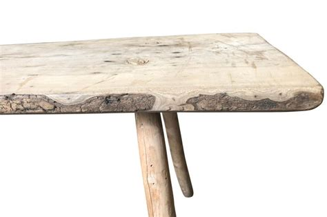 Have the coffee, but not the end table? Spanish 18th Century Primitive Side Table, Coffee Table For Sale at 1stDibs