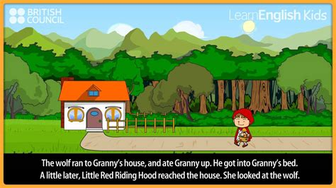 red riding hood kids stories learnenglish kids