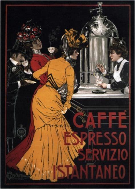 caffe espresso servizio istantaneo ca  art print
