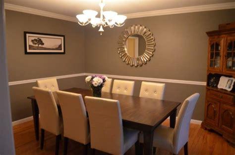 dining room ideas  chair rail molding housely