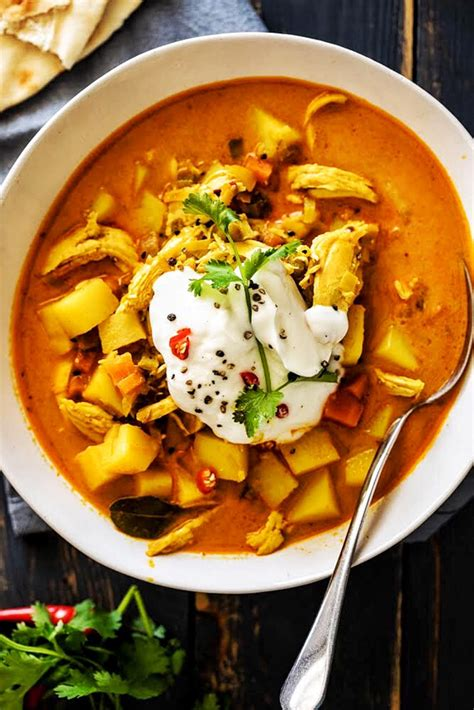 Recipe is quite spicy as is. Chicken Curry Soup - Simply Delicious