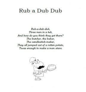 tub lyrics rub a dub dub lyrics ichild